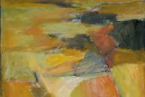 """Une autre paysage, 22"""" x 18*; Private Collection"""