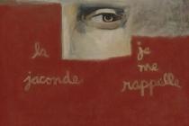 """La Jaconde, 24"""" x 36""""; Private Collection"""