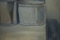 "Homage to Morandi #2, 60"" x 48"""